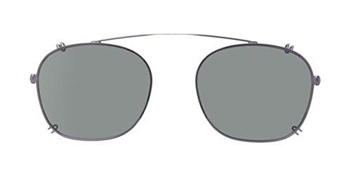 Persol Occhiali da sole Da Uomo 3007c - 935/9A: Matte antracite polare verde clip-On - 50mm
