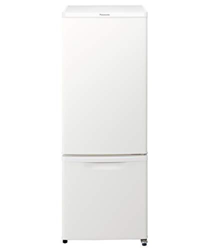 パナソニック 冷蔵庫 2ドア 168L マットバニラホワイト NR-B17CW-W