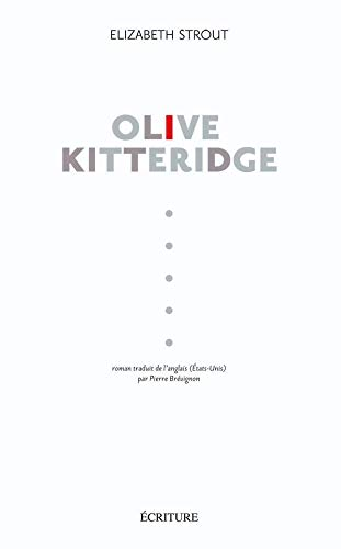 Olive Kitteridge - Prix Pulitzer de littérature