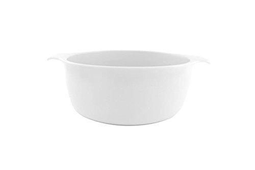 Eschenbach Porzellan Group Cook & Serve Topf 1, 00 l/ 16 cm Kochtopf aus Porzellan, Weiss