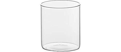 BITOSSI Home Basic Set 6 Bicchieri, Tumbler, Trasparente