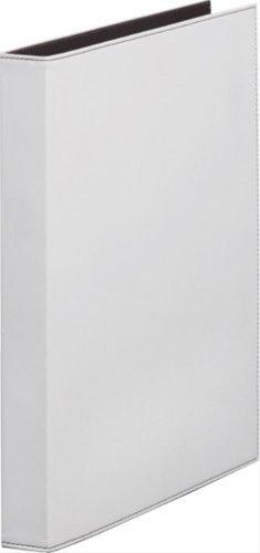 キングジム レザフェス リングファイル 白 1961LFシロ 00007360 【まとめ買い3冊セット】