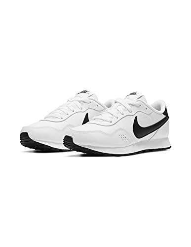 Nike MD Valiant BG, Zapatillas Deportivas, Blanco y Negro, 35.5 EU
