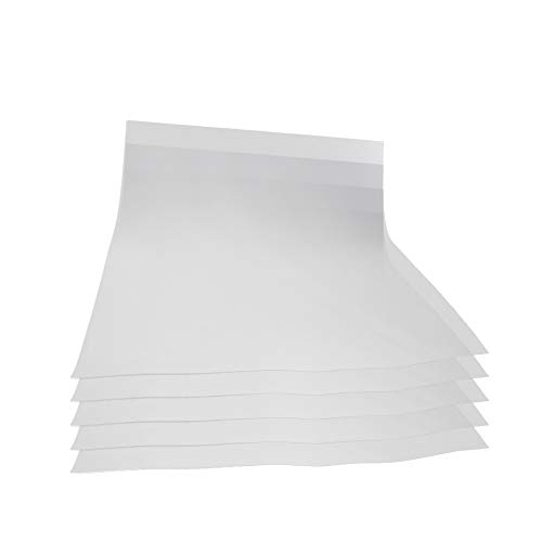 Othmro A3 Cotton light-colored heat transfer paper 297mm Width 420mm Length White A3 fashion Printable Paper personalize for Printers 5PCS