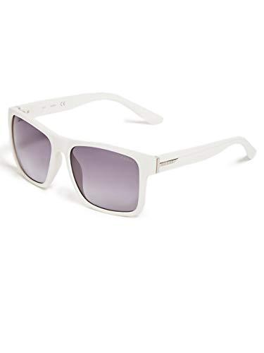 GUESS Factory Plastic Retro Square Sunglasses
