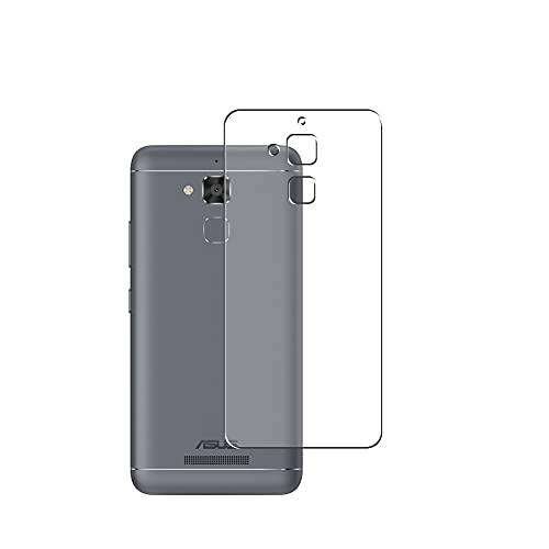 Vaxson 2 Stück Rückseite Schutzfolie, kompatibel mit ASUS ZenFone 3 MAX ZC520TL ZenFone3, Backcover Skin TPU Folie Haut [nicht Panzerglas Bildschirmschutzfolie Hülle Hülle ]