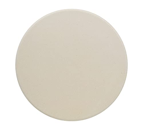 """GasSaf 10"""" Round Pizza Stone for Oven and Grill, Small Baking Stone Safe and Duraable Cordierite Stone, Cooking Stone for Baking Crisp Crust Pizza, Bread"""