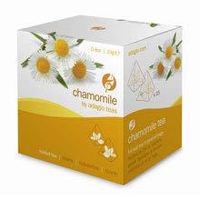 Adagio Teas Chamomile Herbal, Caffeine Free, 15 Full Leaf Gourmet Sachet Pyramid Bags