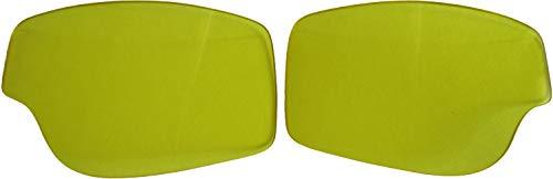 Aviator Ersatzgläser für Motorradbrille T2/T3 gelb