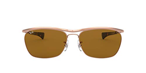 Ray-Ban 0RB3619 Gafas, ROSE GOLD, 60 Unisex