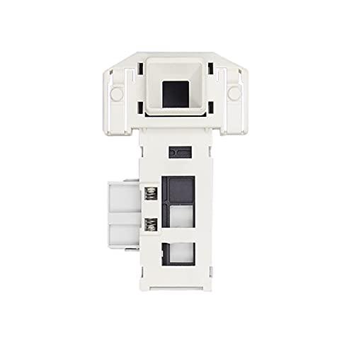 GIS 11pcs 3 Inserte el Interruptor de retardo de Bloqueo de Puerta electrónico WM1095 Ajuste para Bosch Siemens Drum Roller Lavadora WD7125 / WD7005 Piezas de reparación