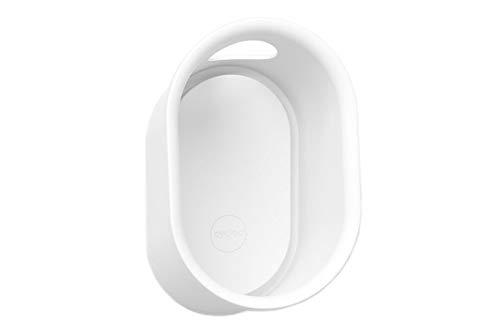 Cycloc Loop  Elegant Wall Mount Helmet and Accessory Storage  White