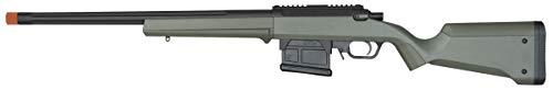 Amoeba AS-01 Striker Rifle Gen2 6mm BB Sniper Rifle Airsoft Gun, Olive Drab