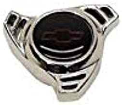 Eckler's Premier Quality Products 55340569 El Camino Air Cleaner Cover Wing Nut Spinner Shape Small Bowtie Logo Chrome