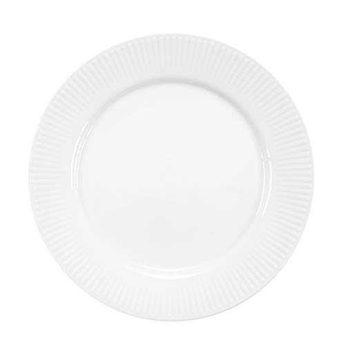 Bodum 11817-03 DOURO 4 Stk. Teller, ø 23 cm, Porzellan, weiß