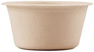 World Centric's 100% Biodegradable, 100% Compostable Bagasse/Wheat Fiber 2 oz Souffle Cups (Package of 500)
