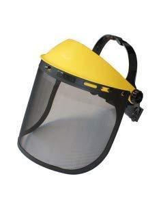 Visor metálico protección equipamiento