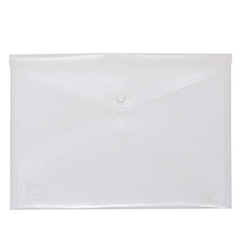 Grafoplás 04871200-Sobre de plástico transparente tamaño folio