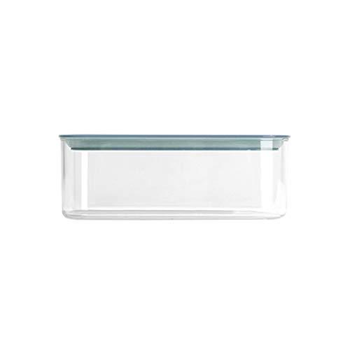 YUMEIGE Caja de almacenamiento de cosméticos Latas herméticas de grado alimenticio, cajas de almacenamiento de cocina para granos enteros, productos secos, bocadillos, tuercas, tanques de almacenamien
