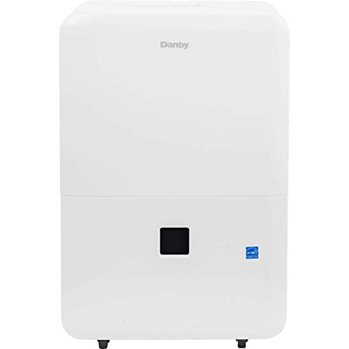 Danby DDR050BJWDB 50 Pint Energy Star Dehumidifier, White