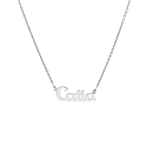 Halskette mit 925er Silbername CATIA