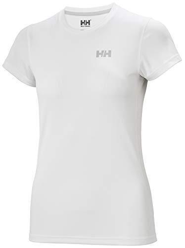 Helly Hansen W HH LIFA Active Solen T-Shirt Camiseta, Mujer, White, L