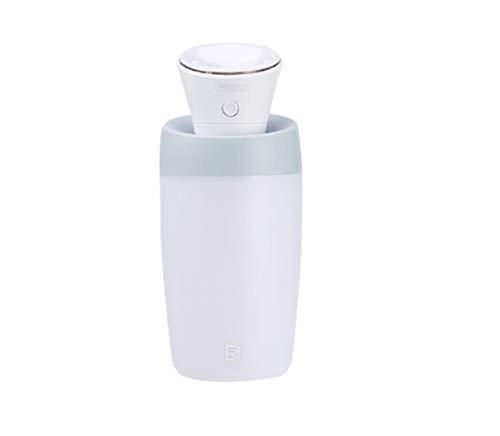 Mini-Luftbefeuchter, tragbar, klein, mit USB, kaltes Nebel, leise, sicher, automatische Abschaltung, einfach zu reinigen, für Schlafzimmer, Babyzimmer, Büro, Auto weiß