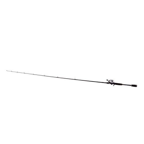 Abu Garcia SMAX3/701MH Silver Max Fishing Rod and Baitcast Fishing Reel Combo, 7 Feet, Medium Heavy Power