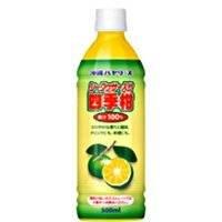【沖縄バヤリース】シークワーサー入り四季柑(果汁100%)500ml×12本