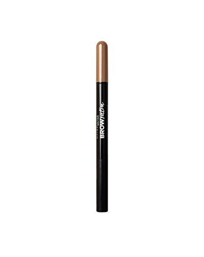 Maybelline New York Augenbrauenstift und -puder, Brow Satin Duo, Nr. 01 Dark Blond