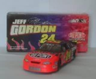 2002 Jeff Gordon #24 Dupont Flames Monte Carlo 1/24 Scale Diecast Hood, Trunk Opens, Limited Edition Action Racing Collectables ARC by NASCAR