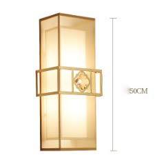 New Chinese wall lamp lamp bedroom bedroom bedside bedroom bedroom room aisle restaurant hotel background wall lamp - 9