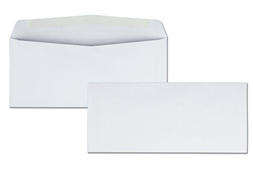 Quality Park #10 Park Preserve Envelope, 4 1/8 X 9 1/2 Inches, White, 1000 count box (90020B)