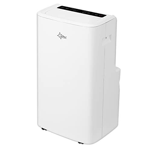 SUNTEC Mobiles lokales Klimagerät Impuls 3.5 Eco R290 | für Räume bis 130 m3 (60 m2) | inkl. Abluftschlauch | Kühler und Entfeuchter mit ökologischem Kühlmittel R290 | 12.000 BTU/h