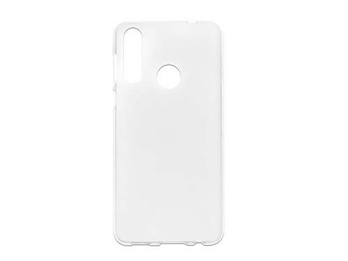 etuo Hülle für HTC Desire 19 Plus - Hülle FLEXmat Hülle - Weiß Handyhülle Schutzhülle Etui Hülle Cover Tasche für Handy