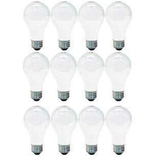 GE Lighting 13257 40-Watt A19, Soft White, 12-Pack
