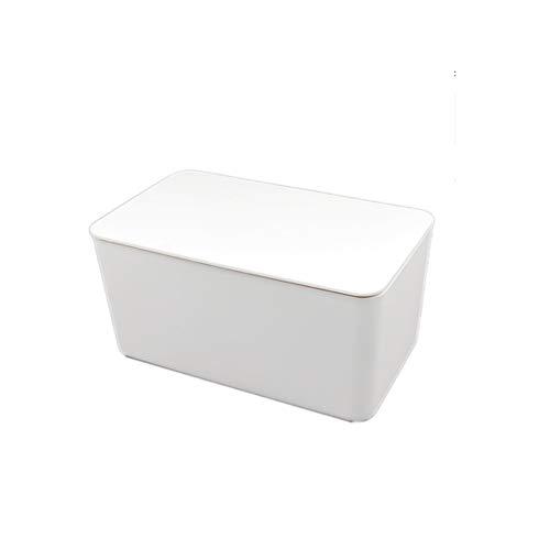 KDEKIFN Caja de pañuelos Secos y húmedos, Caja de Almacenamiento de servilletas de pañuelos húmedos para bebés, Caja de Almacenamiento, Caja de Papel para Suministros de Cocina y baño (Color : A)