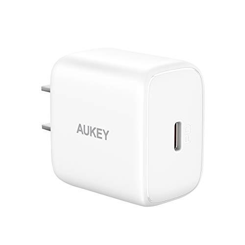 AUKEY AUKEY(オーキー) USB充電器 Swift 20W PD対応 [USB-C 1ポート] PA-R1 ホワイト AUKEY(オーキー) White PA-R1-WT