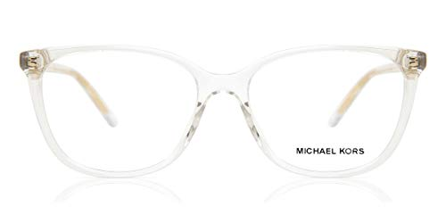 Michael Kors Damen 0MK4067U Sonnenbrille, Crystal, 53