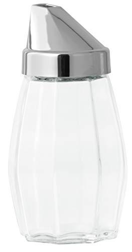 FACKELMANN Zuckerdosierer Jade 160ml Glas, Silber, ca. 13 cm