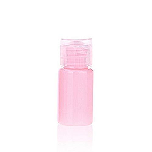 DDSP Botella de silicona recargable portátil mini vacío, botella de viaje, botella de viaje, loción de gel, champú y gel de ducha (color: D, material: PP)