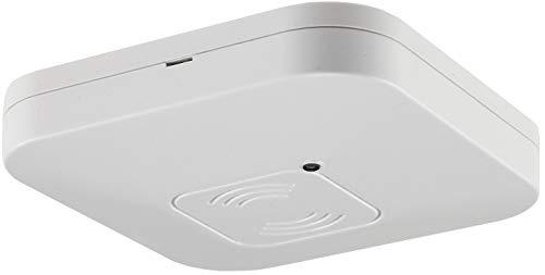 ChiliTec Decken-Bewegungsmelder Aufputz 360° I HF Technik I 8m Reichweite   LED geeignet 2-800Watt   27mm flach I Weiß