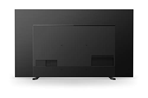 Sony KD-55A8 Bravia 139 cm ( 55 Zoll) Fernseher (Android TV, OLED, 4K Ultra HD (UHD), High Dynamic Range (HDR), Smart TV, Sprachfernbedienung, 2020 Modell), Schwarz