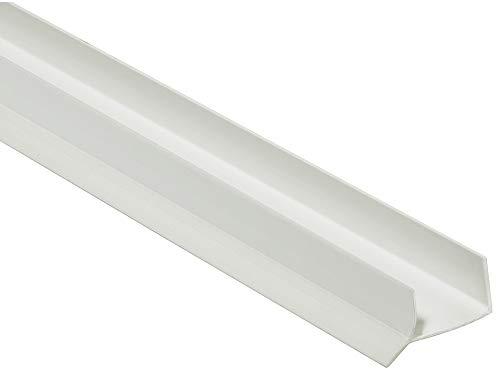 Pihami 8 €/m Sockeldichtprofil Küche Sockeldichtlippe 2500x16mm Kunststoff weiß für Küchenblende