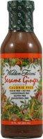NEW - Walden Farms Salad Dressing, Sesame Ginger - 12 fl. oz.