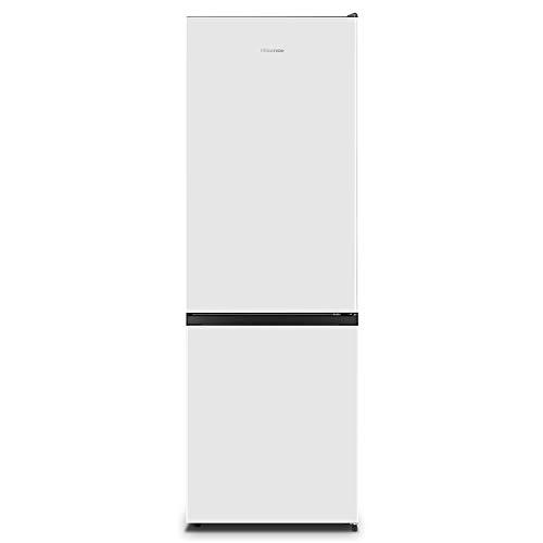 Hisense RB372N4AW1 - Frigorífico Combi No Frost, Clase A+, Color Blanco, Capacidad neta 287 L con 178,5 Cm Alto, Sistema de ventilación Multi Airflow , 4 estrellas congelador, puerta reversible