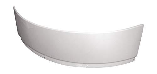 Calmwaters® - Modern Small 2 - Weiße Badewannenschürze aus Acryl für Eckbadewannen in 120 x 120 cm - 03SL2338