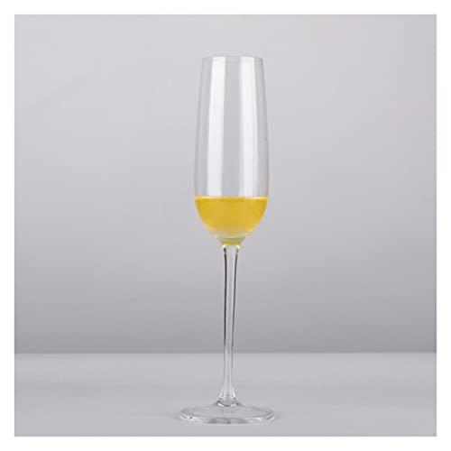 qun-qun 200-300ml ruikt rod zwart goblet glas cup kristal glazen champagne wijn cup bubble bril zoete wijn glas proeven neus beker (Color : S2)