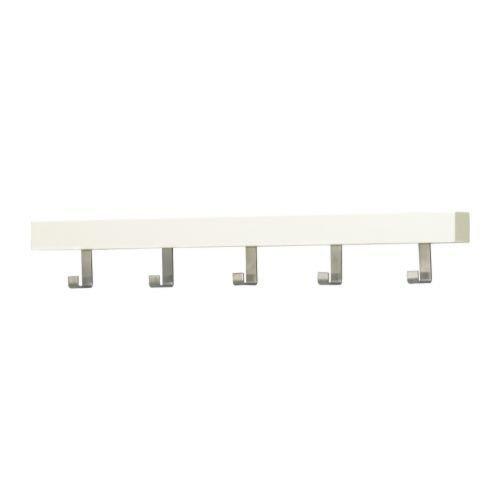 IKEA TJUSIG Aufhänger für Tür/Wand in weiß; (60cm)