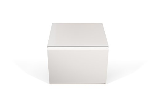 TemaHome Float night table, Blanc Pur (Mat), 45 x 43 x 31 cm